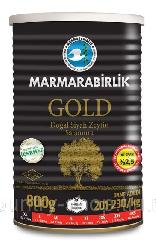 Маслины в рассоле GOLD консервная банка 900 г