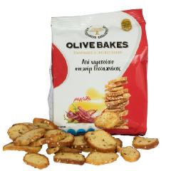 Сухарики пшеничные с паприкой OLIVE BAKES 80г