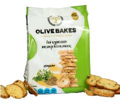 Сухарики пшеничные с орегано OLIVE BAKES 80г