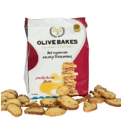 Сухарики пшеничные со вкусом бекона OLIVE BAKES 80г