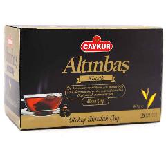 Пакетированный турецкий черный чай Altinbas Çaykur 20 пакетов
