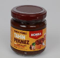 Тахинная (кунжутная) паста с виноградным пекмезом и пастой из фундука 320 гр
