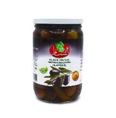 Маслины черные Rawiat Al Sham, 400 г