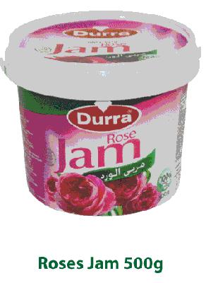 Варенье из лепестков роз Durra 500 гр