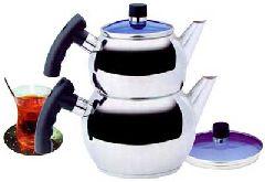 Турецкий чайник железный двойной