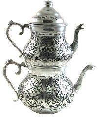 Медный турецкий чайник