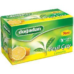 Зеленый чай с лимоном ДОГАДАН 20 п