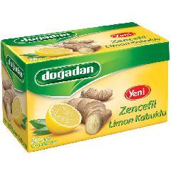 Чай Dogadan в пакетиках имбирь с лимоном