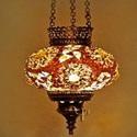 Подвесной мозаичный светильник