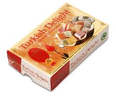 Лукум ассорти - лимон, мята, роза, апельсин 125 гр